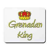 Grenadan King Mousepad