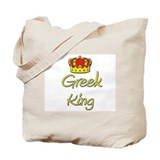 Greek King Tote Bag