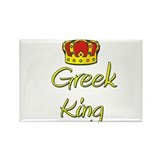 Greek King Rectangle Magnet (10 pack)