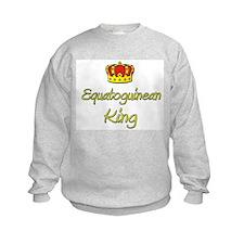 Equatoguinean King Sweatshirt