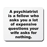 Joey adams quotation Mousepad