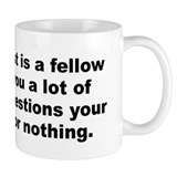 Joey adams quotation Mug