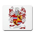 Lindsay Coat of Arms Mousepad
