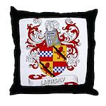 Lindsay Coat of Arms Throw Pillow