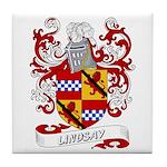 Lindsay Coat of Arms Tile Coaster