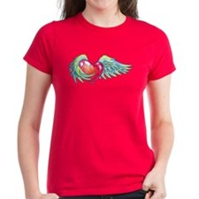 Winged Heart Dark Tee - NEW ITEM!