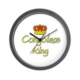 Congolese King Wall Clock