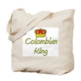 Colombian King Tote Bag
