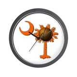 Clemson Basketball Wall Clock