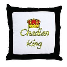 Chadian King Throw Pillow