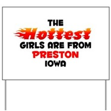 Hot Girls: Preston, IA Yard Sign