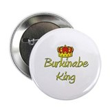 Burkinabe King 2.25&quot; Button