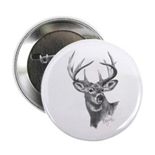 """White-Tailed Deer 2.25"""" Button (100 pack)"""