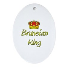 Bruneian King Oval Ornament
