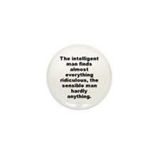 Funny Finding everything Mini Button (10 pack)