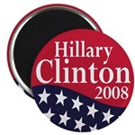 Hillary Clinton for President in 2008 (Magnet)