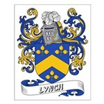Lynch Coat of Arms Small Poster