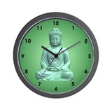 Funny Buddhism Wall Clock