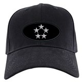 Black General of the Army Cap