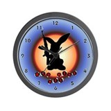 Bad Hare Day Wall Clock