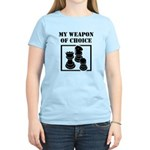 Chessman - WeaponOfChoice Women's Light T-Shirt