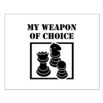 Chessman - WeaponOfChoice Small Poster