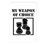 Chessman - WeaponOfChoice Postcards (Package of 8)