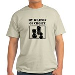 Chessman - WeaponOfChoice Light T-Shirt