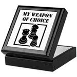 Chessman - WeaponOfChoice Keepsake Box
