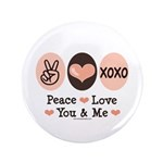 Peace Love You and Me Valentine 3.5