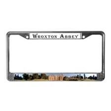 Unique Abbey License Plate Frame