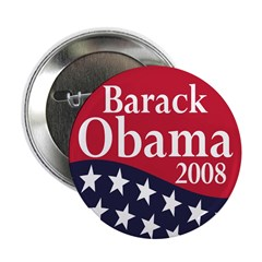 Barack Obama 2008 2.25&quot; Button (100 pack)