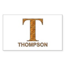 Tiger Striped T for Fred Thompson Decal