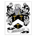 Moseley Coat of Arms Small Poster