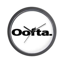 Oofta Wall Clock