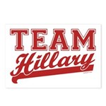Team Hillary Red Postcards (Package of 8)
