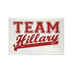 Team Hillary Red Rectangle Magnet