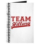 Team Hillary Red Journal