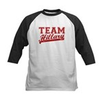 Team Hillary Red Kids Baseball Jersey