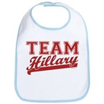 Team Hillary Red Bib
