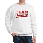 Team Hillary Red Sweatshirt