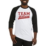 Team Hillary Red Baseball Jersey