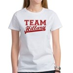 Team Hillary Red Women's T-Shirt