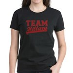Team Hillary Red Women's Dark T-Shirt