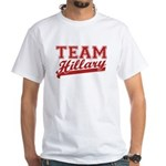 Team Hillary Red White T-Shirt