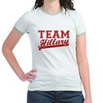 Team Hillary Red Jr. Ringer T-Shirt