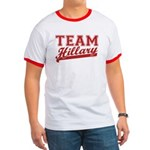 Team Hillary Red Ringer T