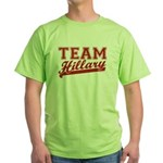 Team Hillary Red Green T-Shirt