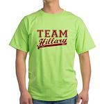 Team Hillary Red Green T-Shirt