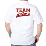 Team Hillary Red Golf Shirt